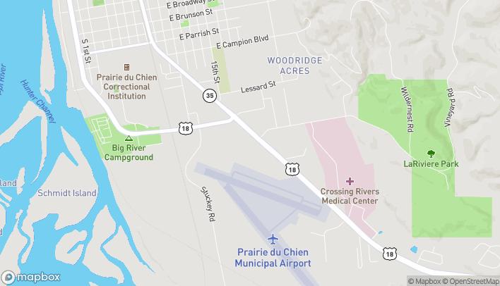 Map of 50 Riverside Square in Prairie Du Chien