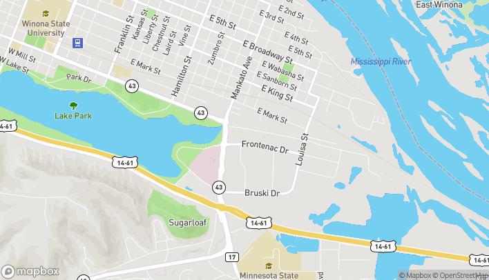 Map of 940 Frontenac Dr in Winona