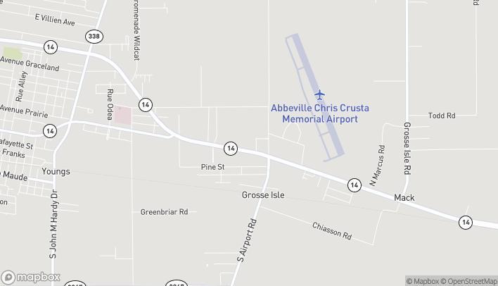 Mapa de 3013 Veterans Memorial Dr en Abbeville