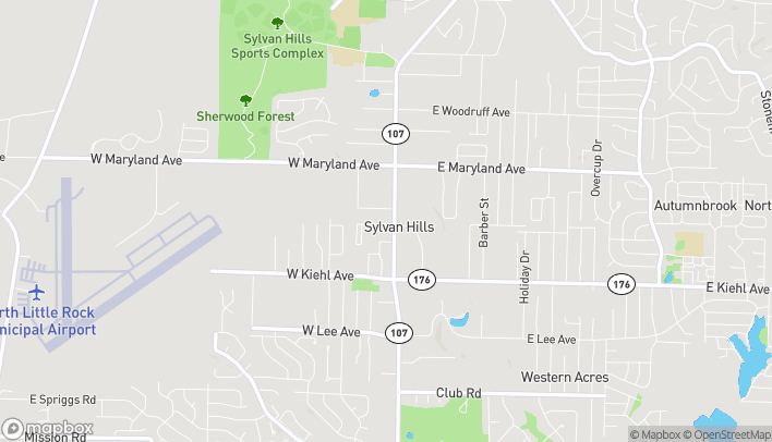 Map of 9007 Highway 107 in Sherwood