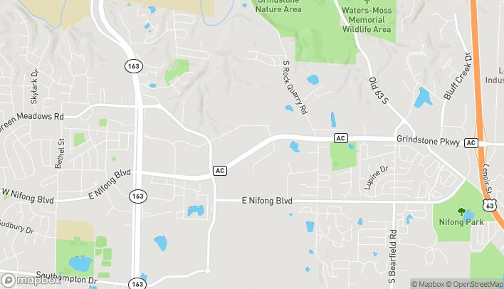 Mapa de 1305 Grindstone Pkwy en Columbia
