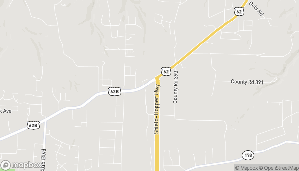 Map of 2995 Hwy 62 E in Mountain Home
