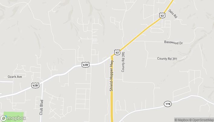 Mapa de 2995 Hwy 62 E en Mountain Home