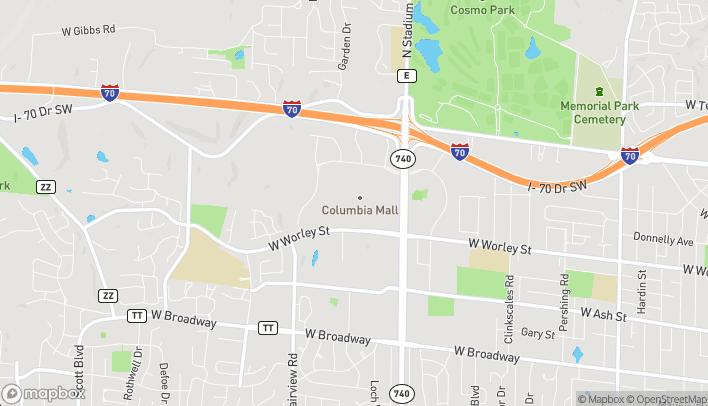 Mapa de 2300 Bernadette Dr en Columbia