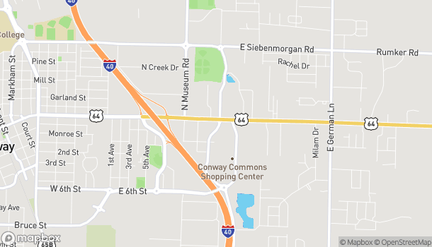 Map of 855 Amity Rd in Conway