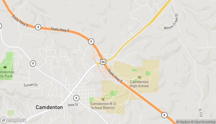 Mapa de 770 E Hwy 54 en Camdenton