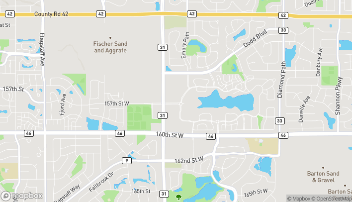 Map of 15678 Pilot Knob Rd in Apple Valley