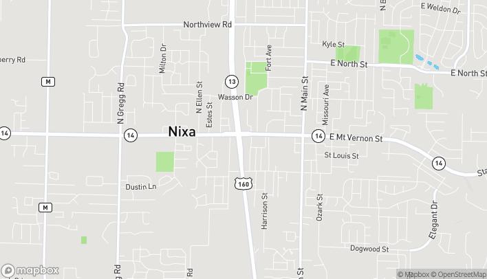 Mapa de 402 West Mt Vernon en Nixa