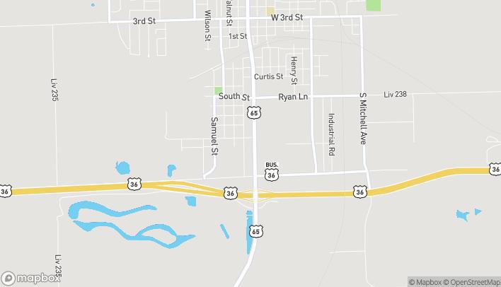 Mapa de 820 S Washington en Chillicothe