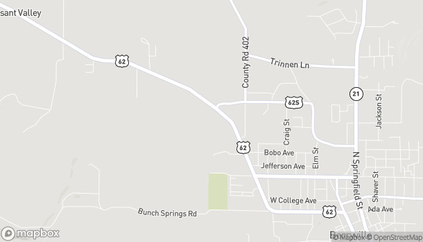 Map of 926 W Trimble St in Berryville