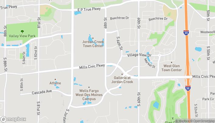 Mapa de 490 S 68th Street en West Des Moines