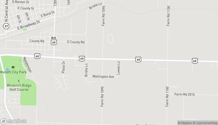 Mapa de 903 E US Hwy 60 en Monett