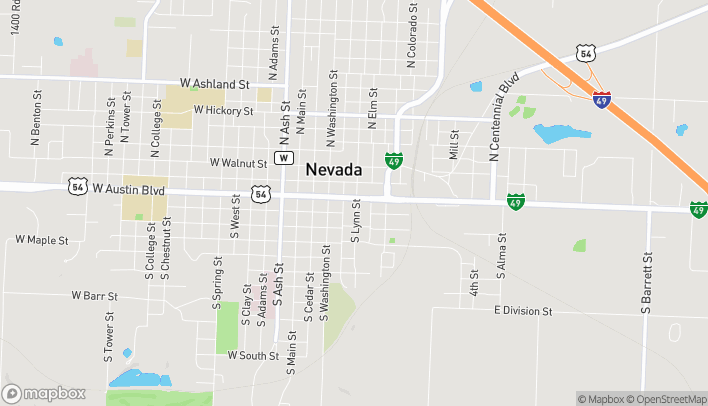 Mapa de 324 Austin Blvd en Nevada