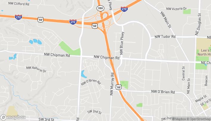 Map of 635 NW Murray Road in Lees Summit