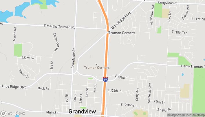 Map of 12346 S US 71 Highway in Grandview