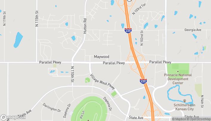 Mapa de 10620-A Parallel Parkway en Kansas City