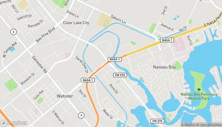 Map of 1052 East Nasa Pkwy in Houston