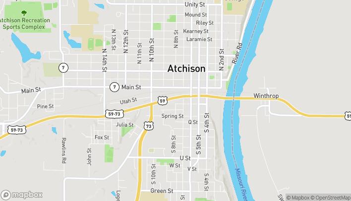 Mapa de 806 Skyway Hwy en Atchison