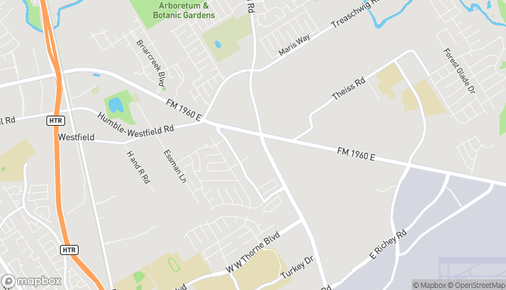 Map of 3040 FM 1960 East in Houston