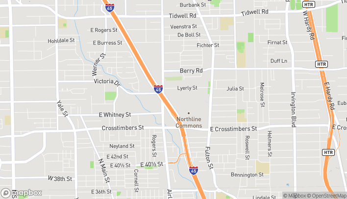 Mapa de 4400 North Freeway en Houston