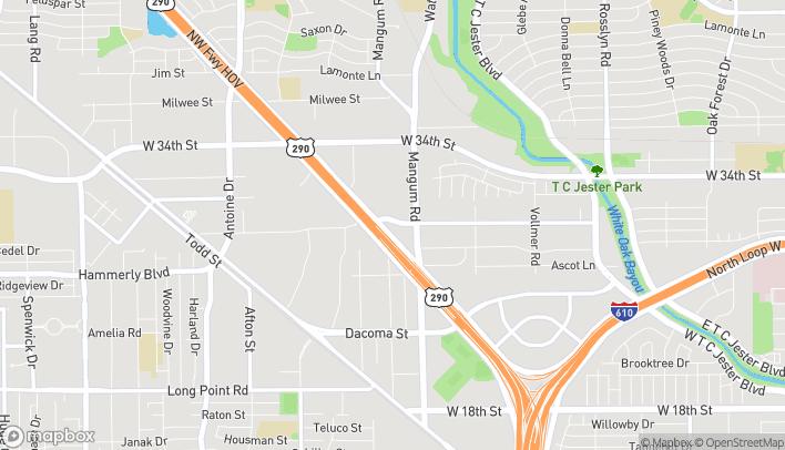 Mapa de 10650 Northwest Fwy en Houston