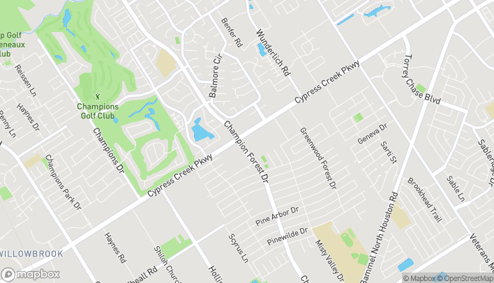 Map of 5503 FM 1960 Rd W in Houston