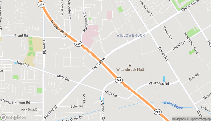 Map of 7911 FM 1960 Rd W in Houston