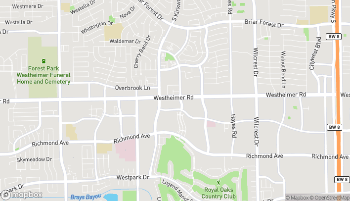 Map of 11805 Westheimer Rd in Houston