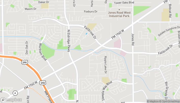 Map of 12020 FM 1960 Rd. W in Houston
