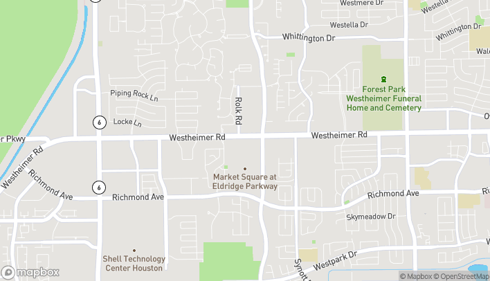 Map of 13341 Westheimer Rd in Houston