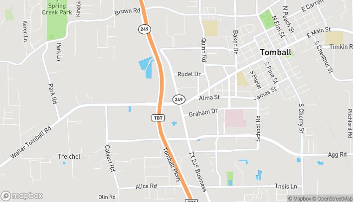 Mapa de 14002 FM 2920 en Tomball