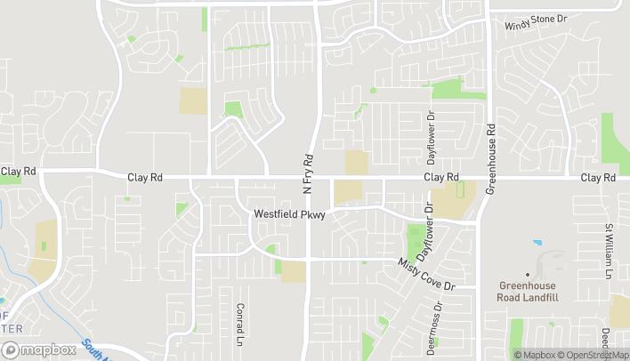 Mapa de 3950 N Fry Rd en Katy