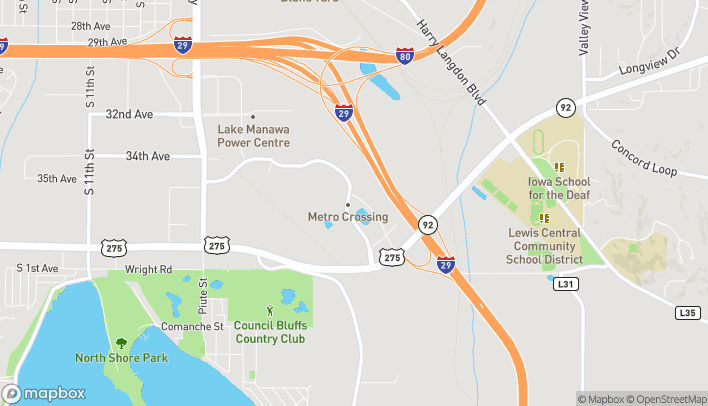 Map of 3701 Metro Dr in Council Bluffs