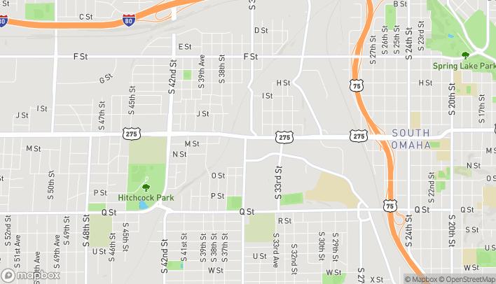 Mapa de 3575 L St en Omaha