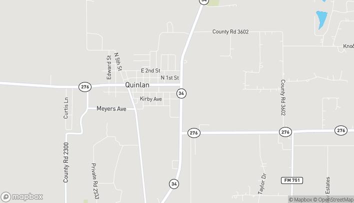 Mapa de 8826 State Hwy 34 en Quinlan