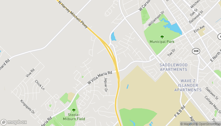 Map of 631 N Harvey Mitchell Pkwy in Bryan