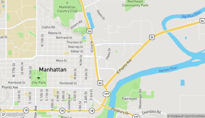 Map of 100 Blumont Ave in Manhattan