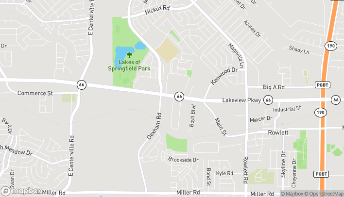 Map of 2202 Lakeview Pkwy in Rowlett