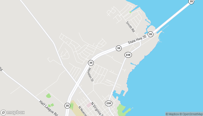 Mapa de 300 Tiney Browning Blvd en Port Lavaca