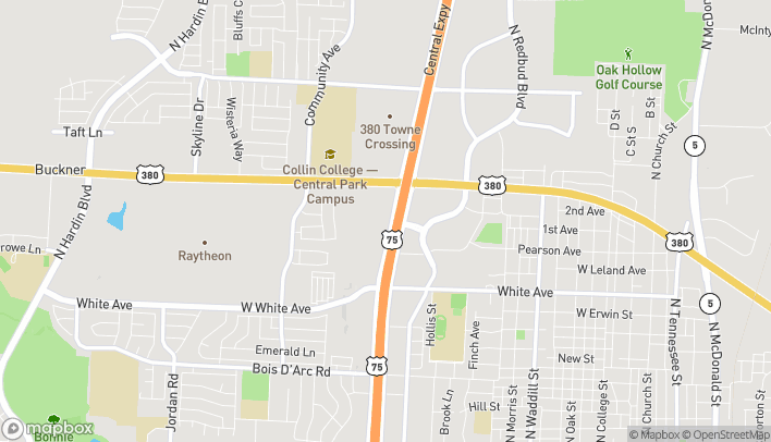 Map of 1681 N Central Expwy in McKinney