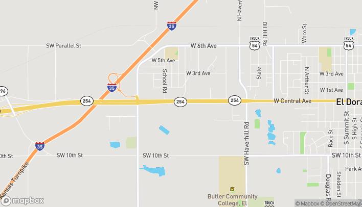Mapa de 2733 W Central Ave en El Dorado