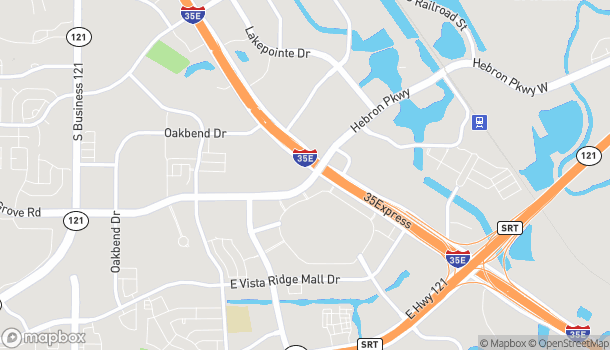 Map of 2397 S Stemmons Fwy in Lewisville