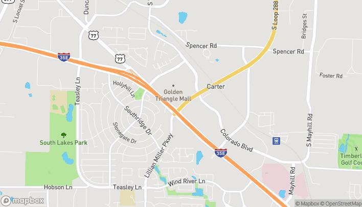 Map of 2304 S Loop 288 in Denton
