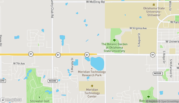 Map of 3940 W 6th Ave in Stillwater