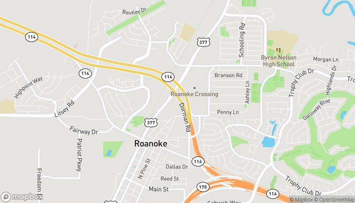 Mapa de 1112 Hwy 377 en Roanoke