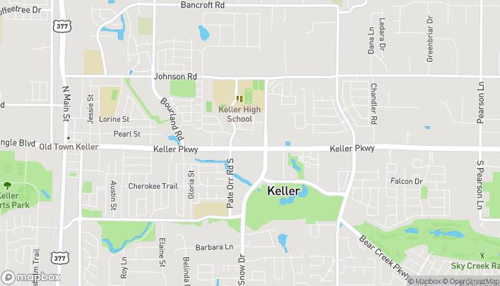 Mapa de 967 Keller Parkway en Keller