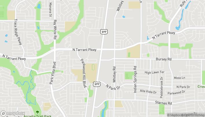 Mapa de 8416 Denton Hwy en Watauga