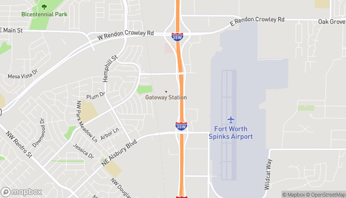 Map of 1169 N Burleson Blvd in Burleson