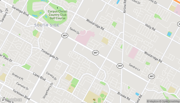 Mapa de 6093 Saratoga Blvd en Corpus Christi