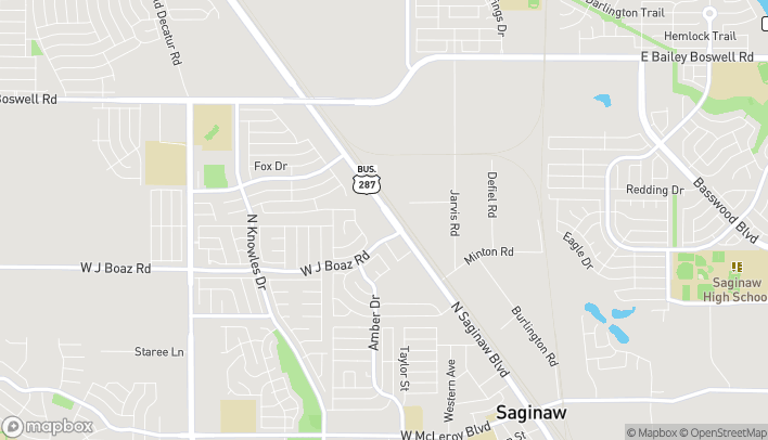 Mapa de 923 N Saginaw Blvd en Saginaw